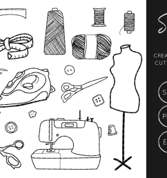 sewing svg cut files crafters cut files sewing clipart example image 1 [ 1158 x 772 Pixel ]