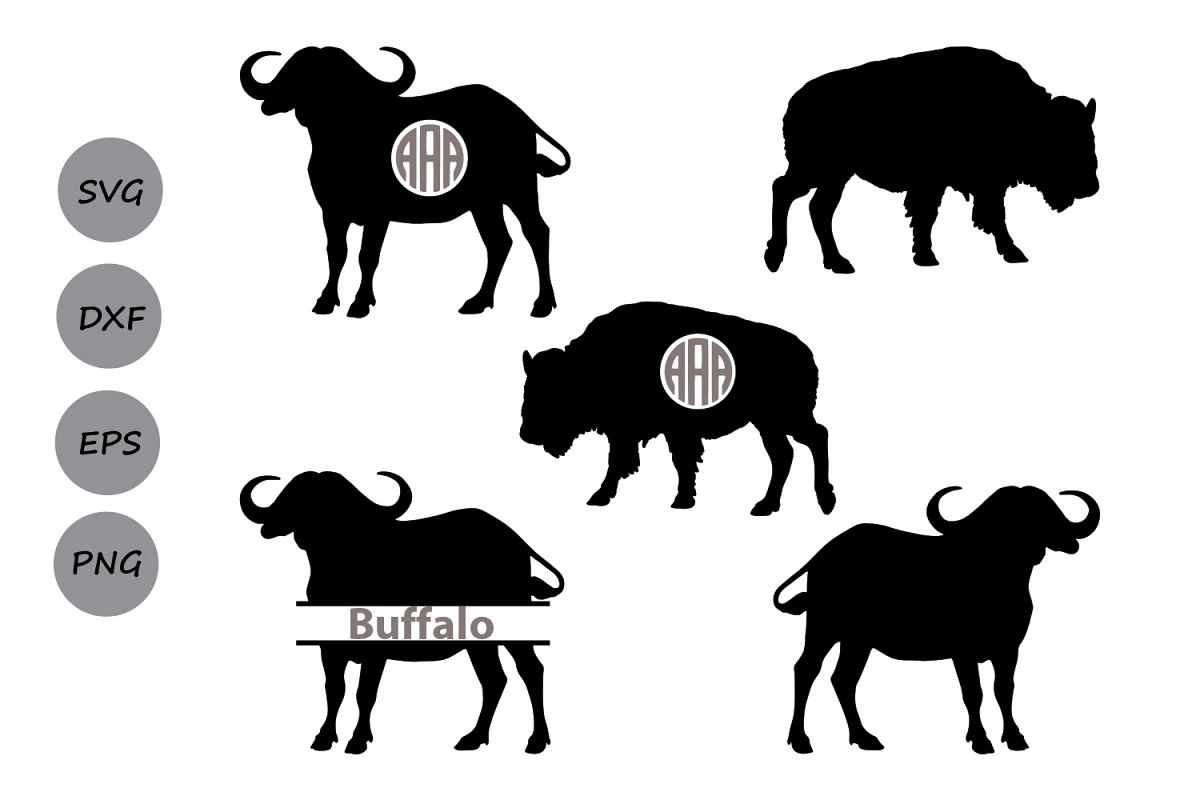 buffalo svg buffalo monogram
