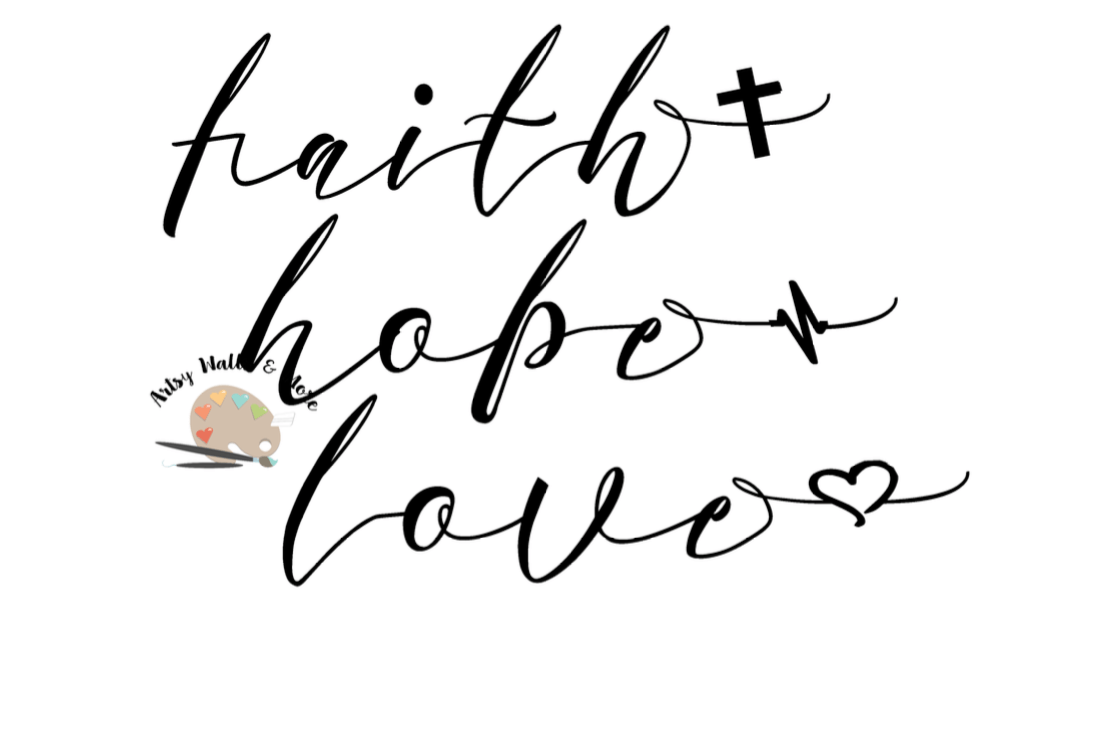 Download faith hope love svg CUT file Christian svg Silhouette or ...