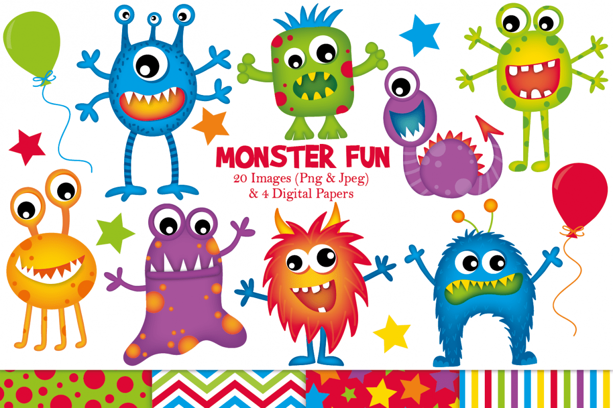 hight resolution of monster clipart monster graphics illustrations example image 1