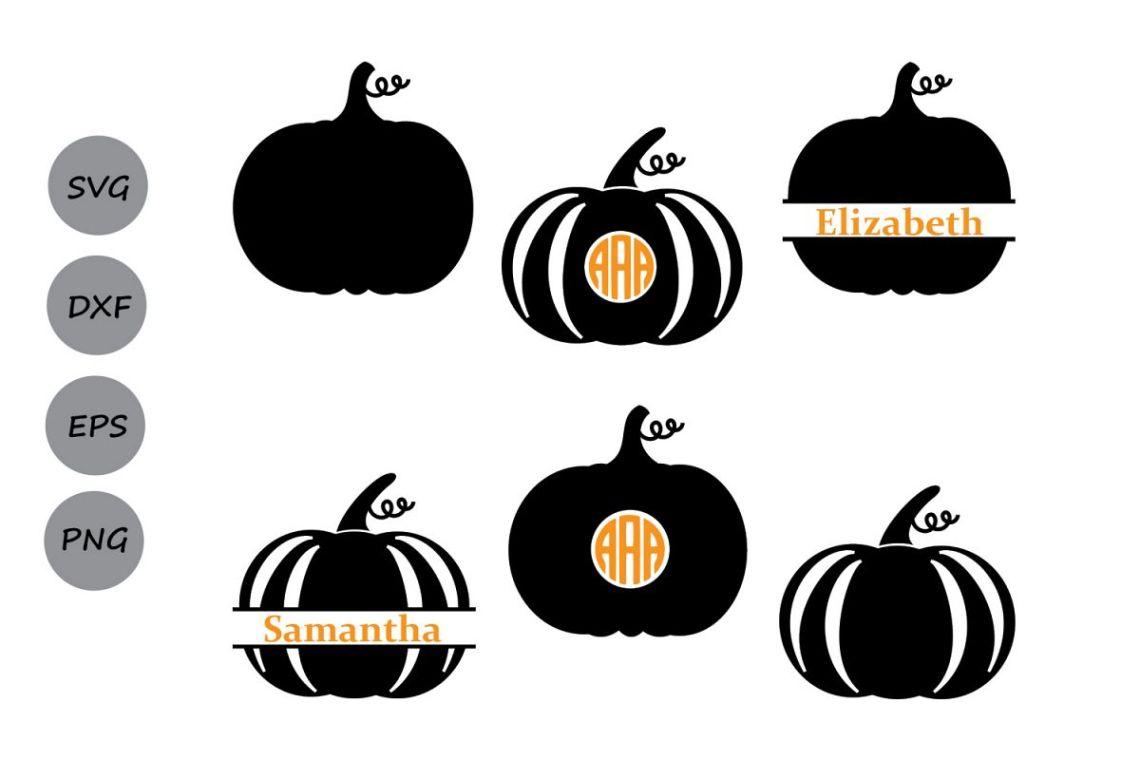 Download Pumpkin SVG, Pumpkin Monogram Svg, Thanksgiving Pumpkin ...
