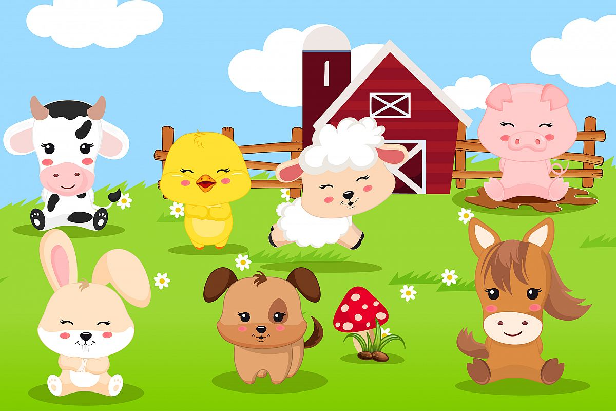 hight resolution of farm animal clipart farm animal graphics example image 1