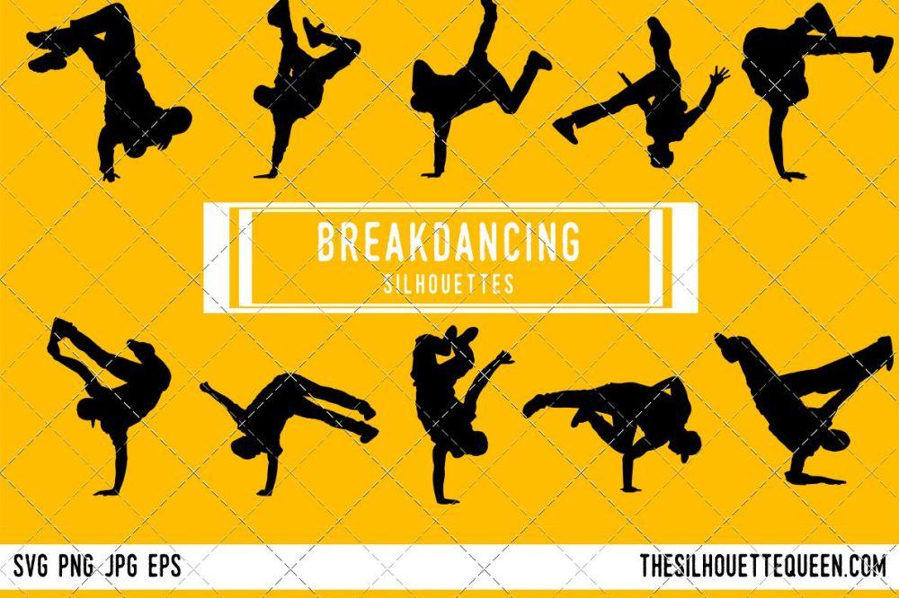 medium resolution of male break dancing silhouette female break dancing clipart break dancing sports vector svg