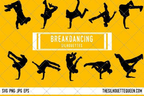 small resolution of male break dancing silhouette female break dancing clipart break dancing sports vector svg