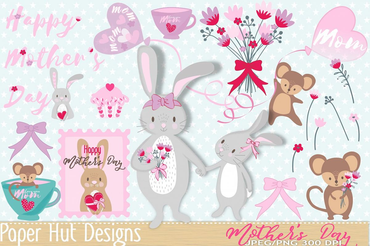 hight resolution of mother s day clipart example image 1