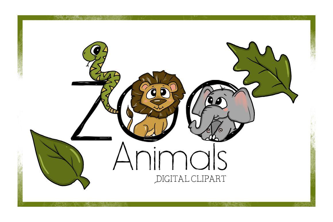hight resolution of zoo clipart digitalclipart animal clipart cute cartoon zoo animals digital