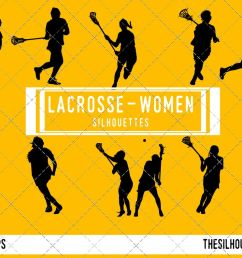 woman lacrosse silhouette female player svg png eps ai example image 1 [ 1188 x 792 Pixel ]