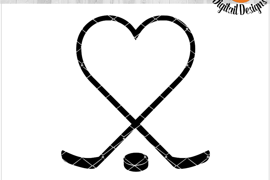 Download Hockey Heart EKG SVG - png - eps - dxf - ai - fcm - Hockey ...