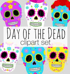 day of the dead clipart illustrations example image 1 [ 1158 x 772 Pixel ]