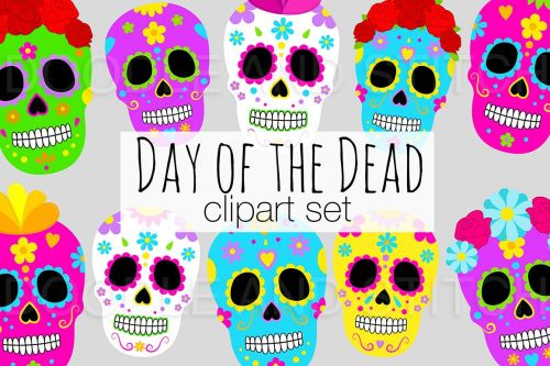 small resolution of day of the dead clipart illustrations example image 1
