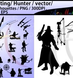 hunting svg hunting silhouette high quality hunting clipart hunting vector file  [ 1158 x 772 Pixel ]