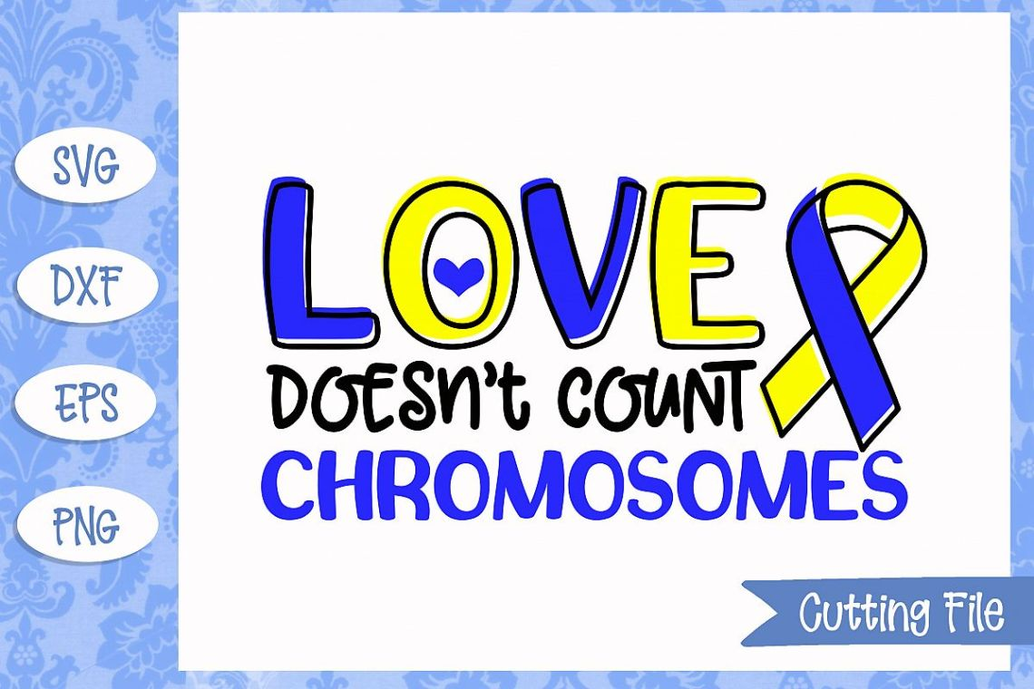 Download Love doesn't count chromosomes SVG File