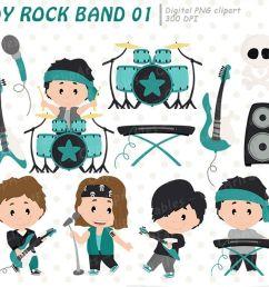 boy rock star clipart music clip art instant download example image 1 [ 1200 x 800 Pixel ]