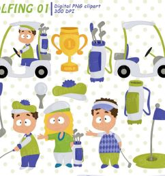 golf clipart cute golfing design golfing girls and boys example image 1 [ 1200 x 800 Pixel ]