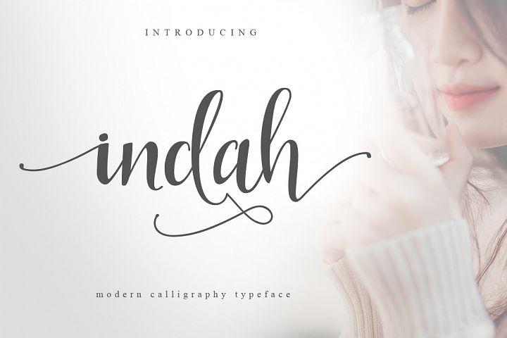 Download Indah Script | Free Font Download