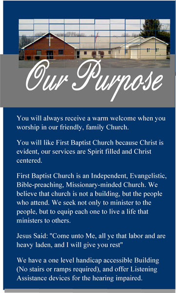 what we believe first baptist church flat rock image