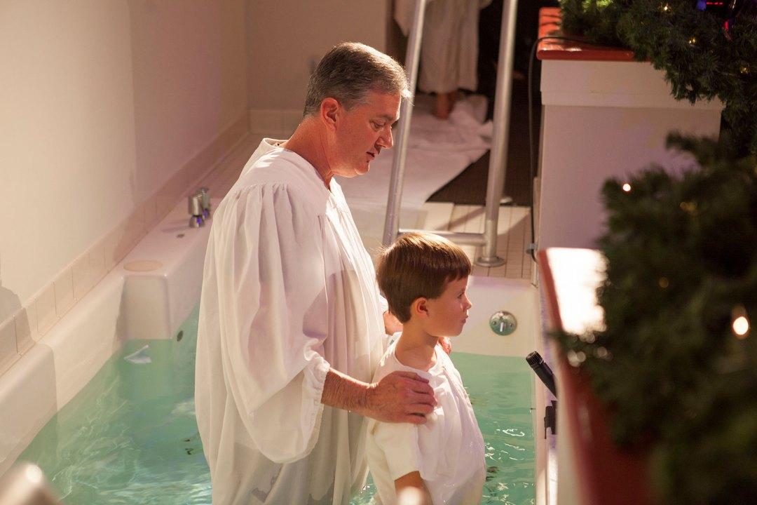 Christmas Baptism