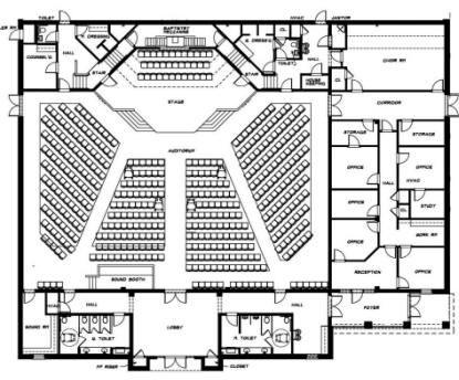 New Worship Center :: First Baptist Church Loretto TN