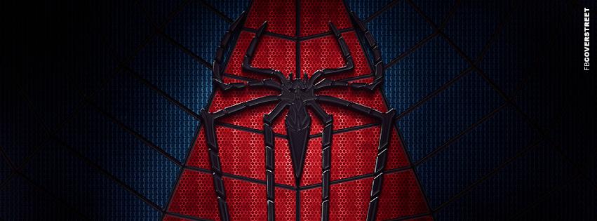Spiderman Chest Symbol Facebook Cover Fbcoverstreet Com