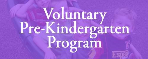 Voluntary Pre-K Program