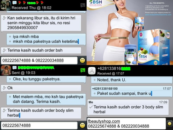 testimoni Body slim Herbal 5