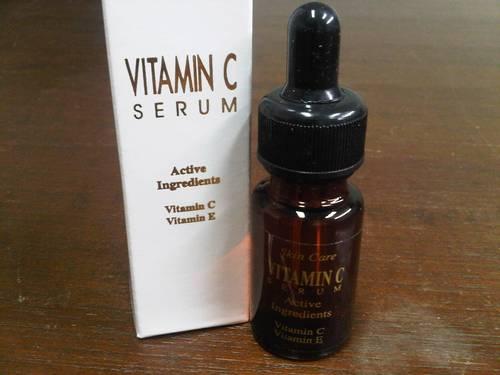 cara pemakaian serum vitamin c