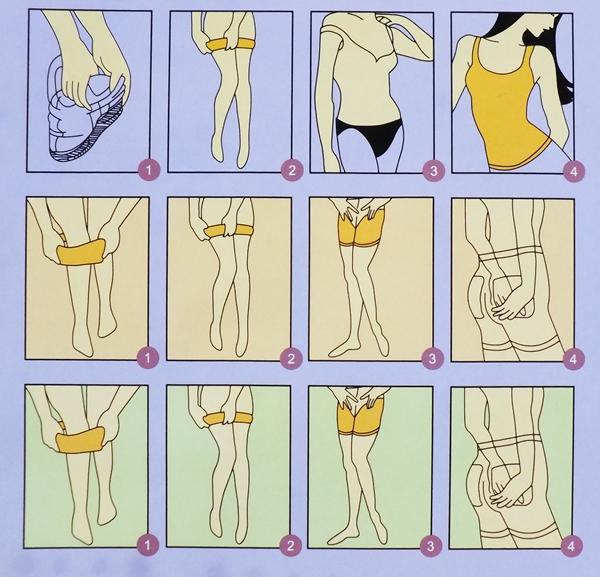 Cara memakai natasha slimming suit