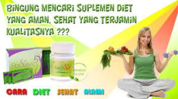 fresh slim cara diet alami
