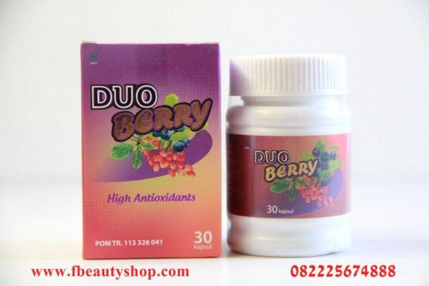 Duo Berry pelangsing dan pemutih badan