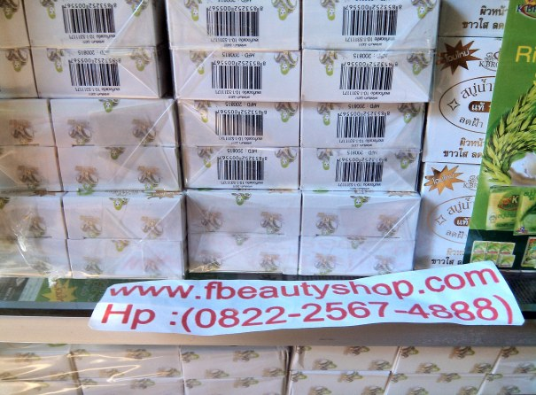 Agen Grosir Sabun Beras Thailand