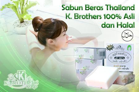 sabun beras thailand aman