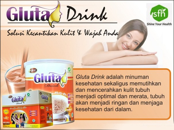 testimoni gluta drink