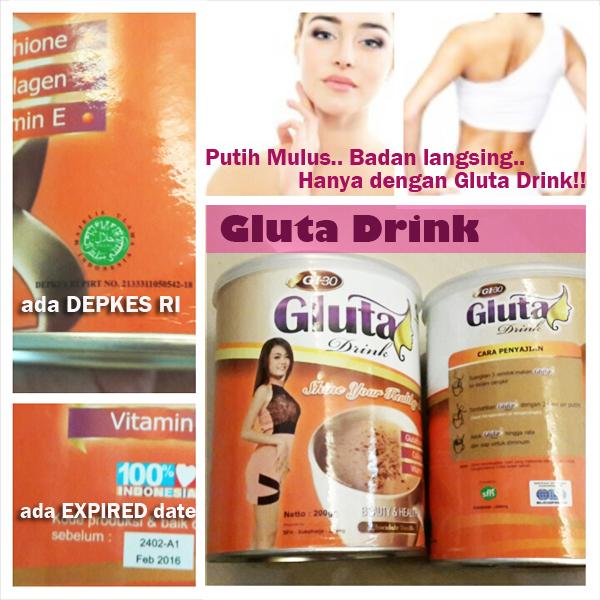 gluta drink asli