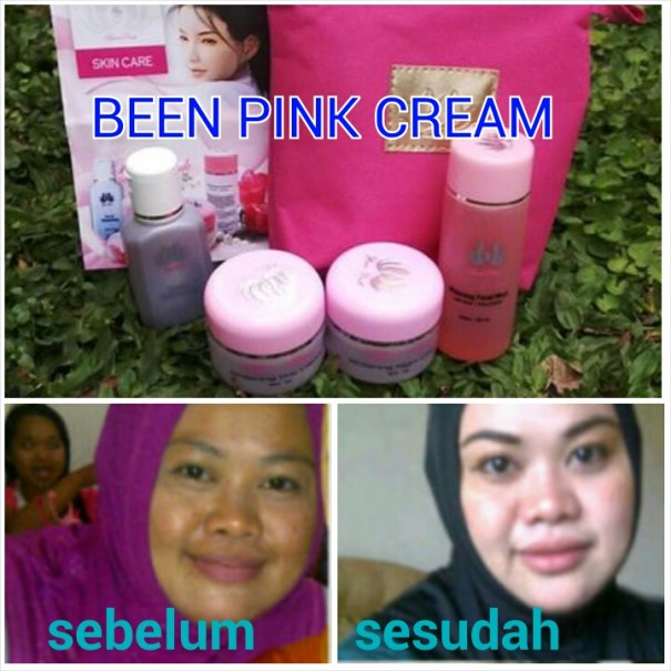 Cream Been Pink Original Kemasan Baru