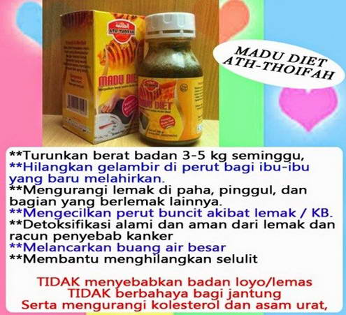 Madu Diet Herbal Ath Thoifah| Distributor Resmi