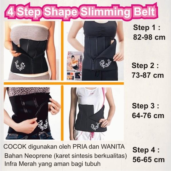 4 Step Shape Slimming Belt