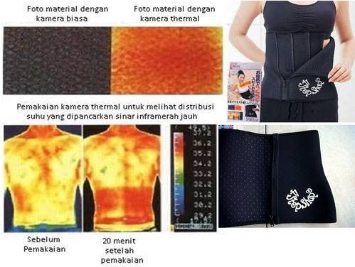 jual 4 Step Slimming Belt