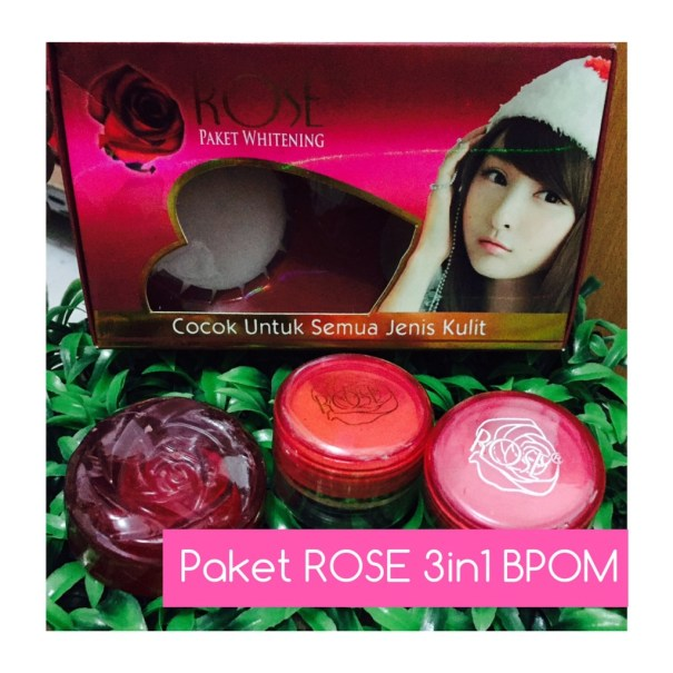 Cream Rose 3 in 1