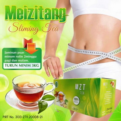 Meizitang Slimming Tea asli