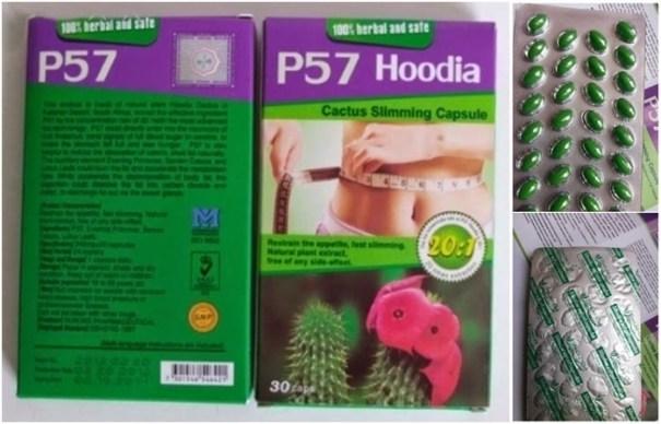 P57 Hoodia Slimming capsule Pelangsing