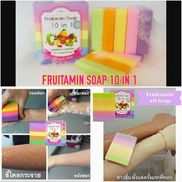 Harga fruitamin soap