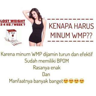 WMP HWI BPOM minuman pelangsing tubuh