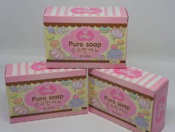 pure soap by jellys sabun kecantikan