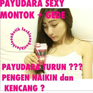 Sexy soon breast cream asli thailand