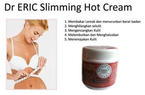 Dr Eric Hot Cream Slimming 500gr Pelangsing Harga Murah