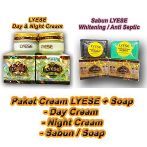 paket cream lyese dan sabun