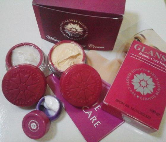 Cream Glansie Paket Normal Original 2