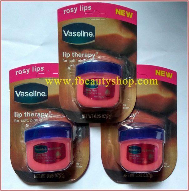 vaseline rosy lip asli