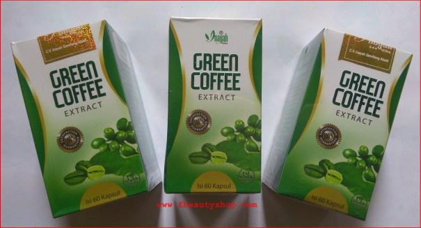inayah Slim green coffee ekstract herbal