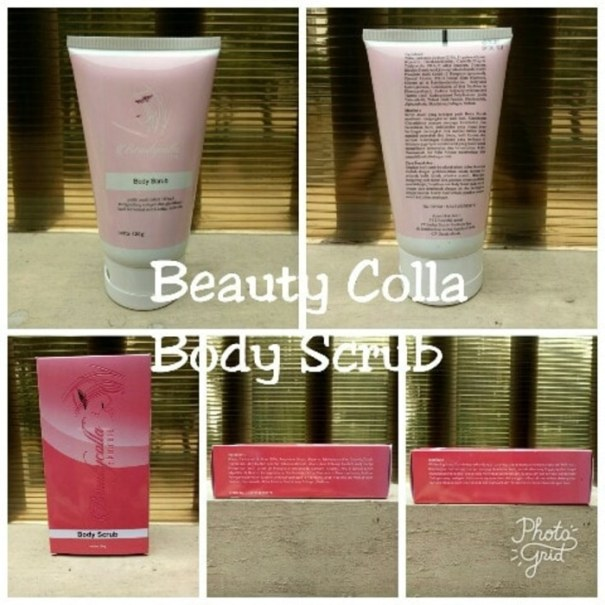 body scrub beauty colla